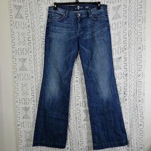 7FAM Dojo Flare Denim Jeans